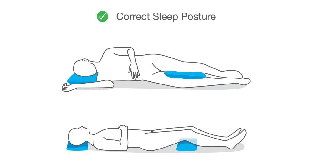 position for Knee Pain While Sleeping