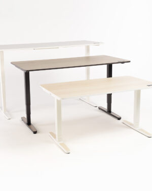adjustable desks all colors tapering in height